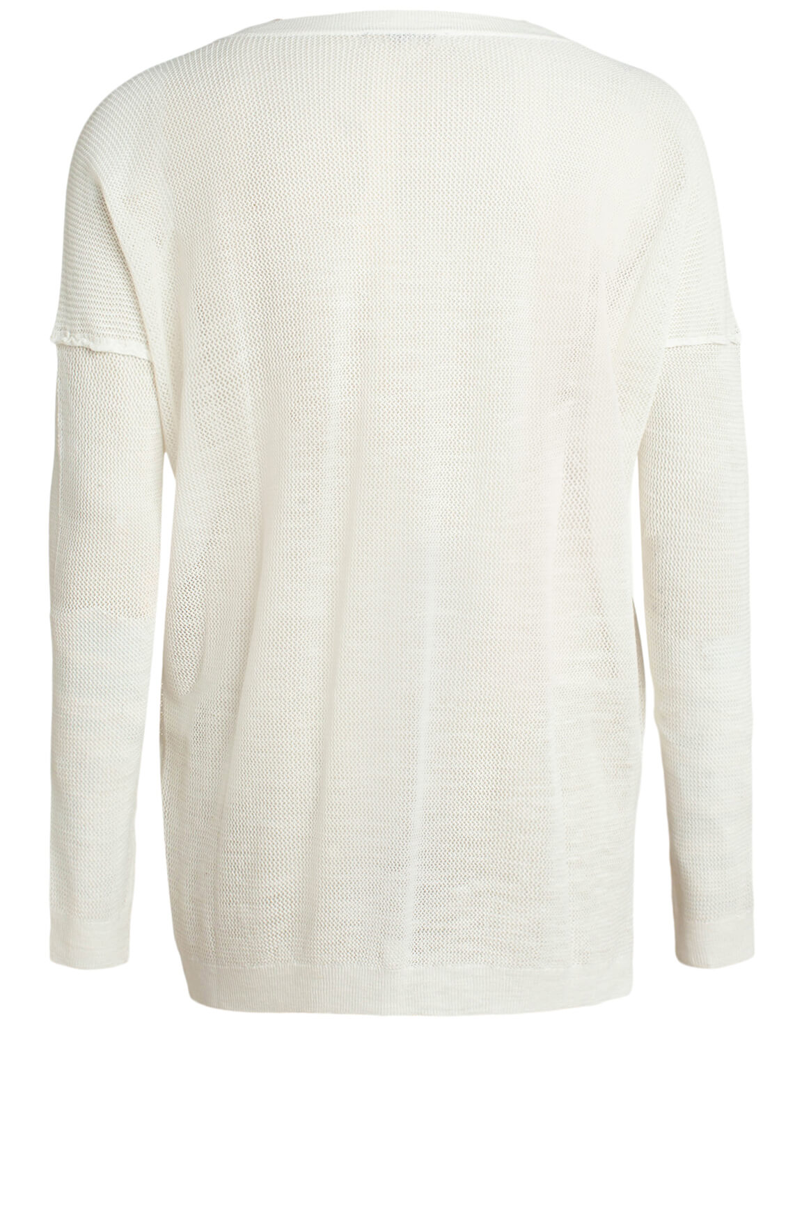 Moscow Dames Mesh pullover wit