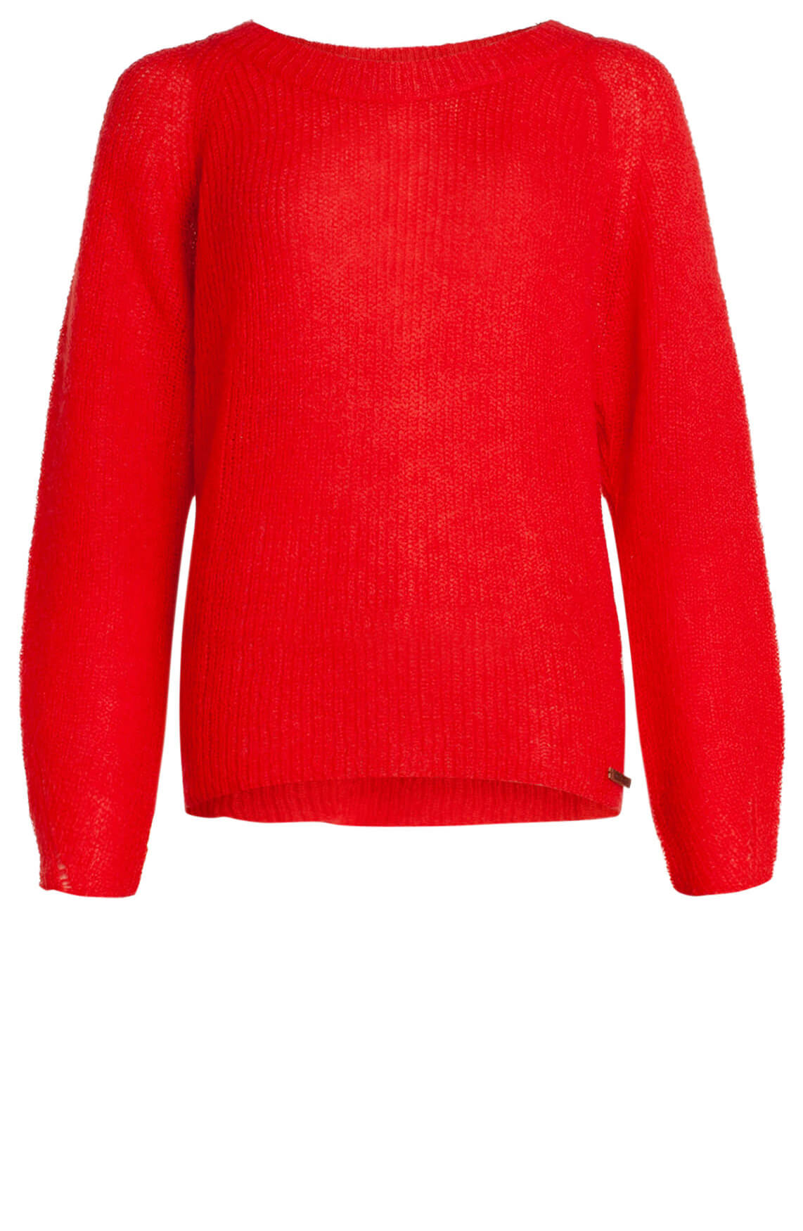 Moscow Dames Gebreide pullover Rood