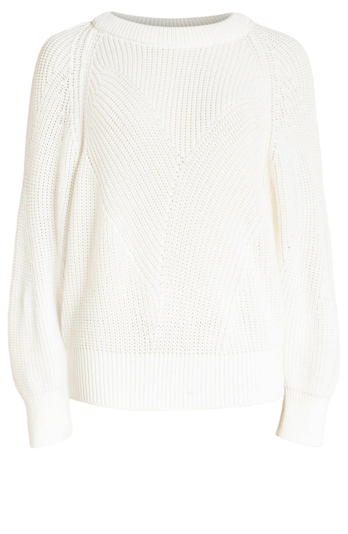Closed Dames Gebreide sweater wit