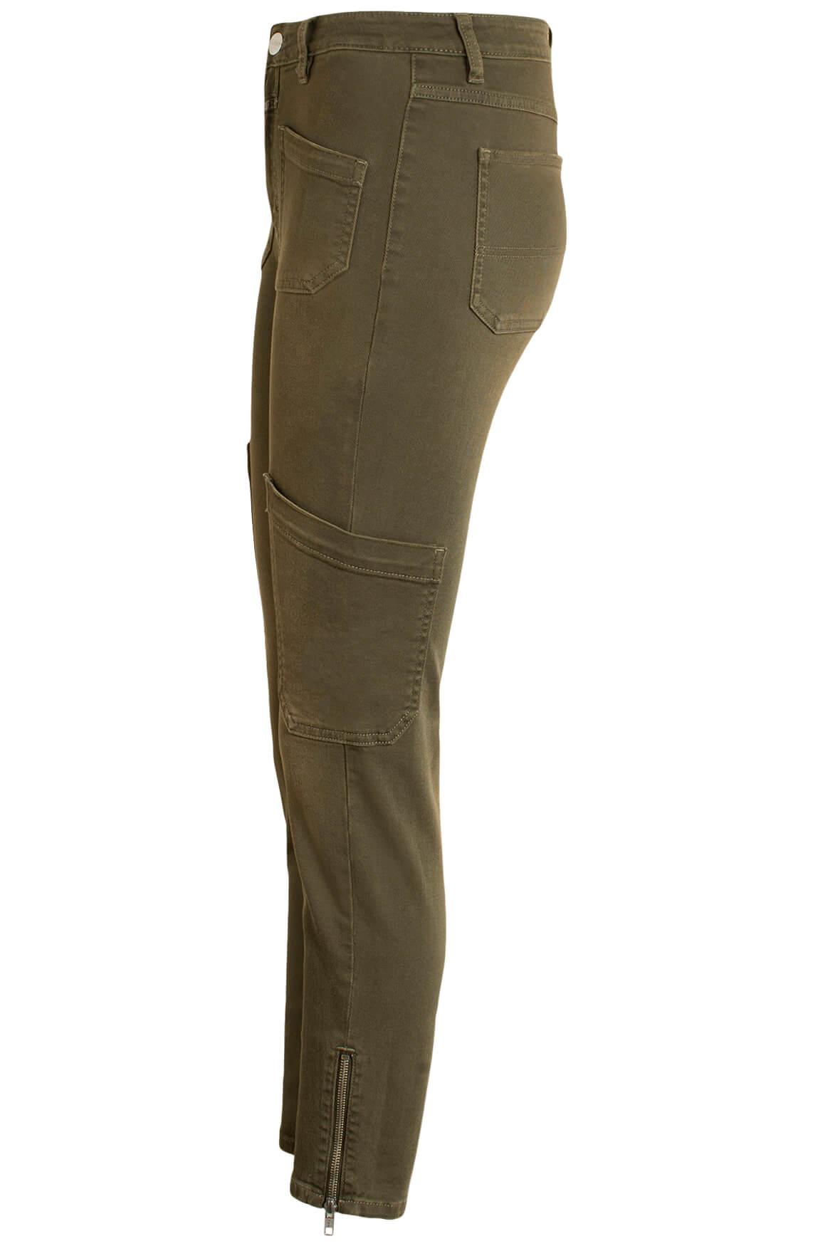 Closed Dames Cargo jeans groen