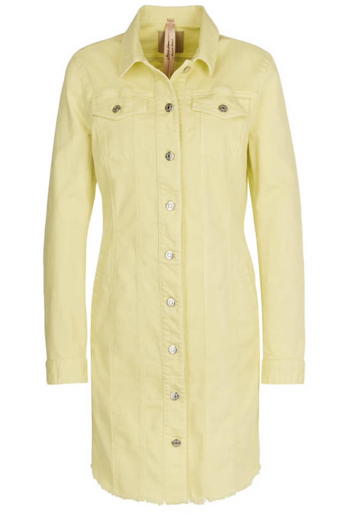 Marccain Dames Jeansjurk geel