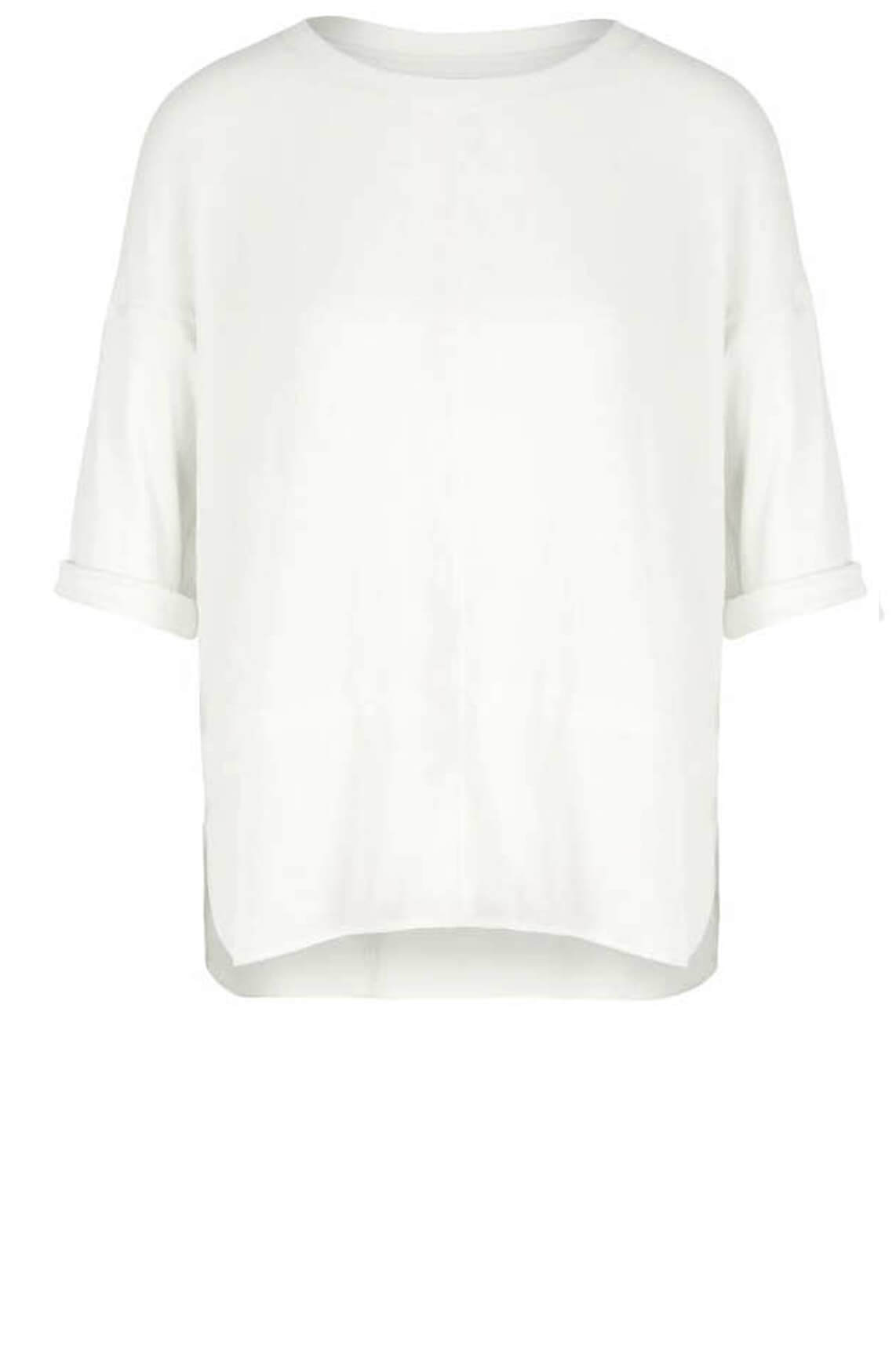 Marccain Sports Dames Blouseshirt wit