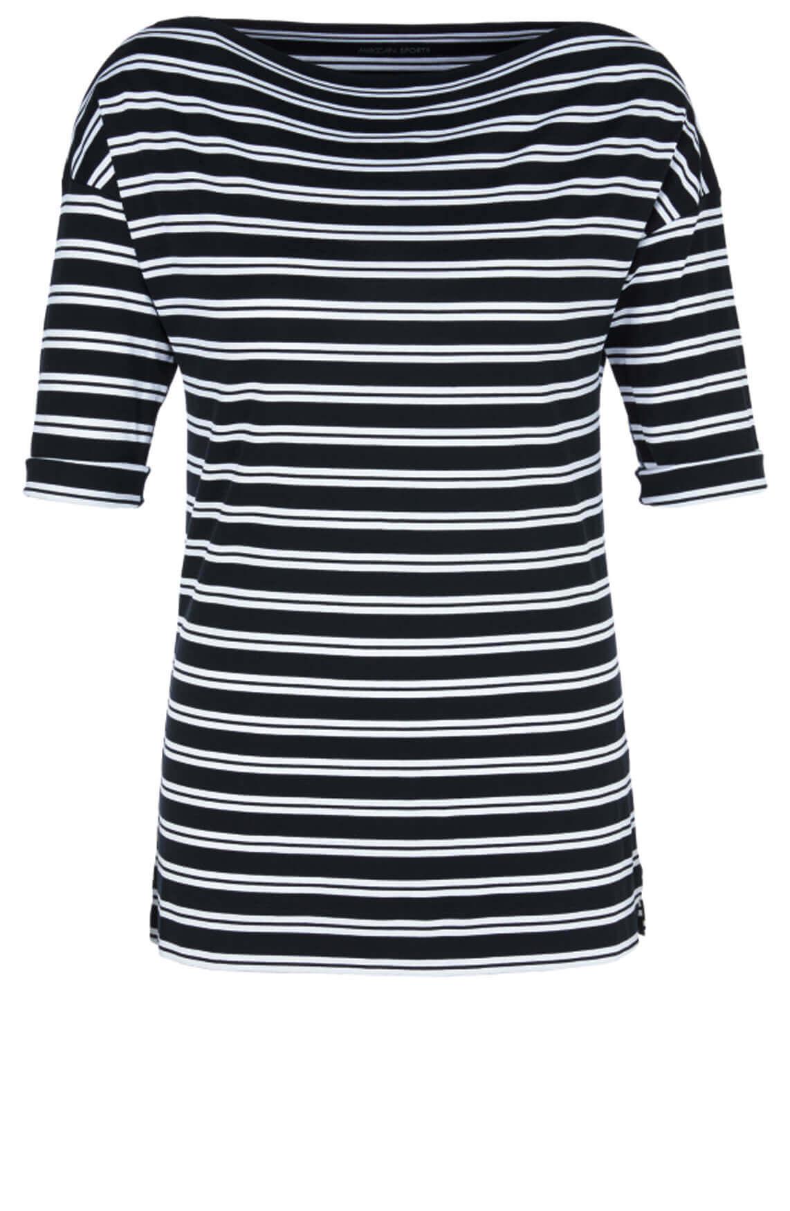 Marccain Sports Dames Shirt met boothals zwart