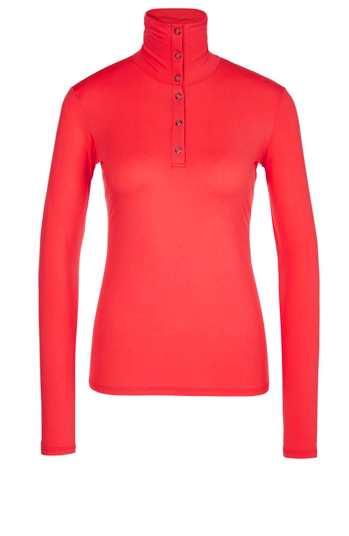 Marccain Dames Stretch shirt Rood