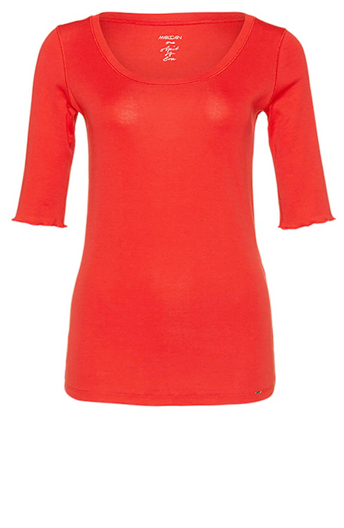Marccain Dames Basic shirt Rood