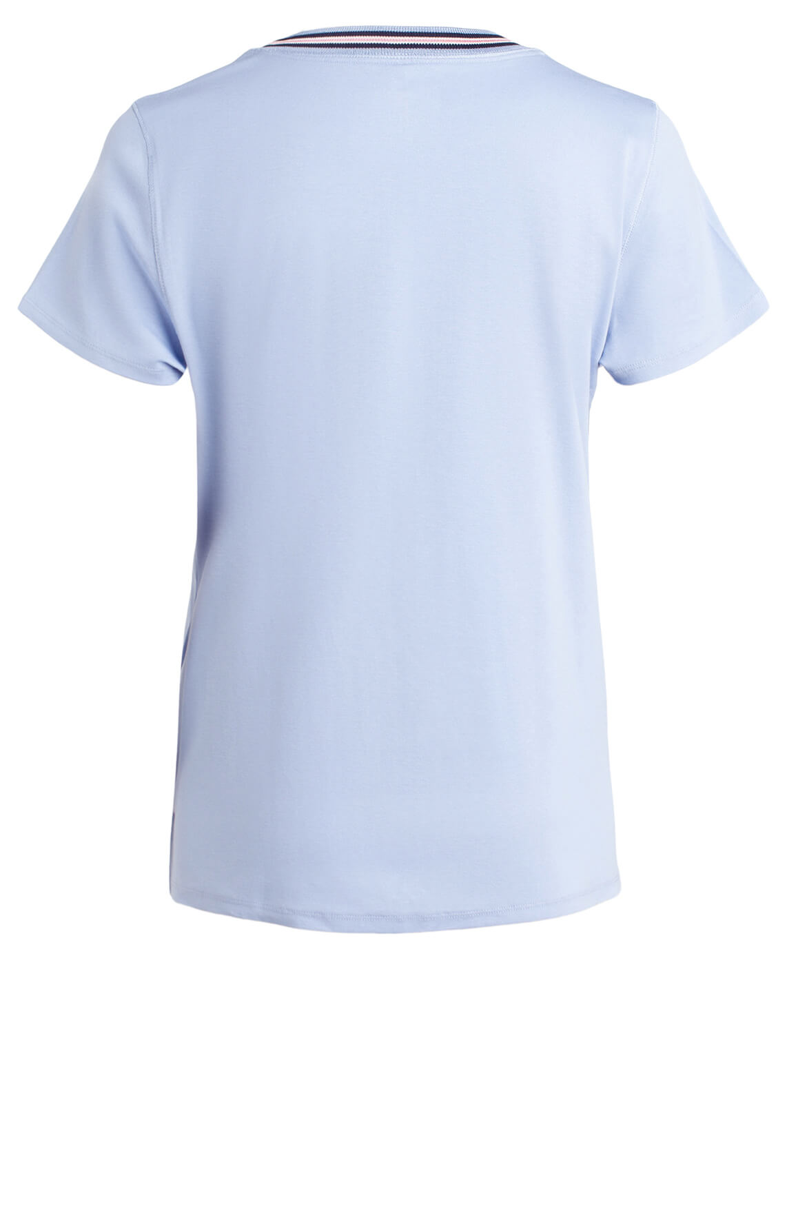 Marccain Dames Shirt met gestreepte hals Paars
