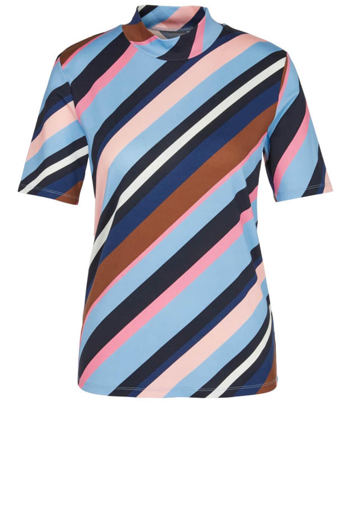 Marccain Dames Gestreept shirt Paars