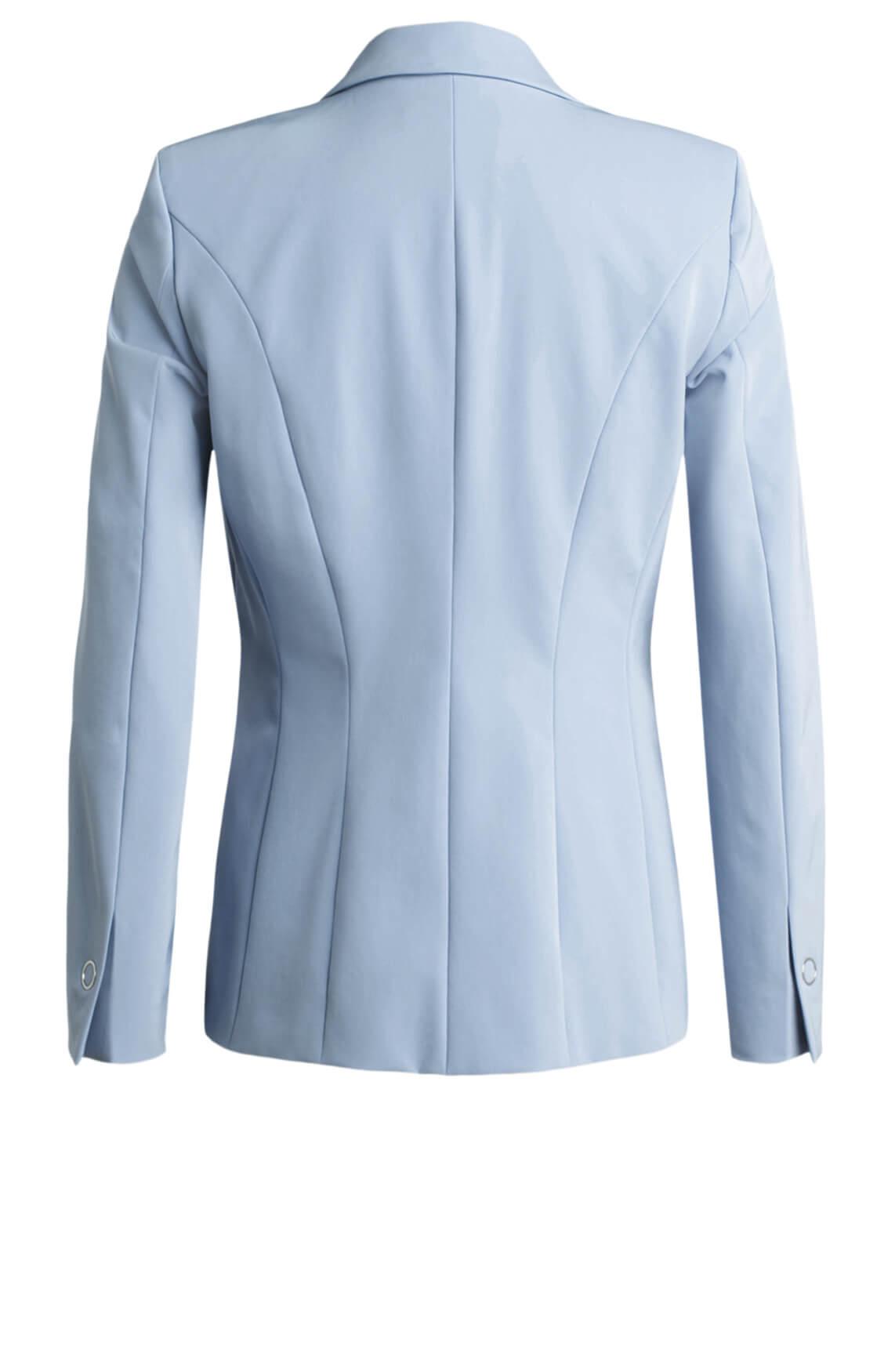 Marccain Dames Glanzende blazer Blauw