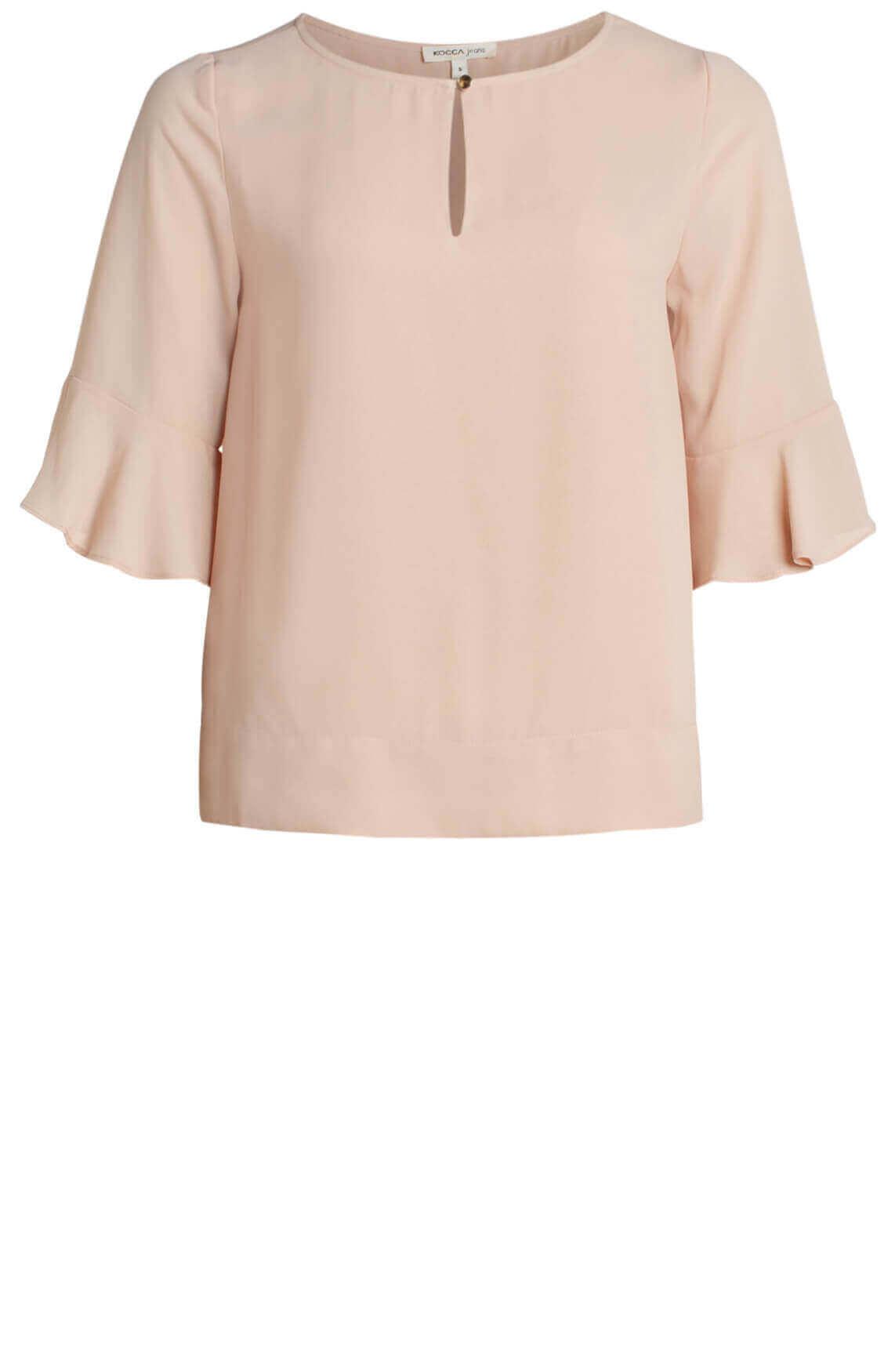 Kocca Dames Plan blouse roze