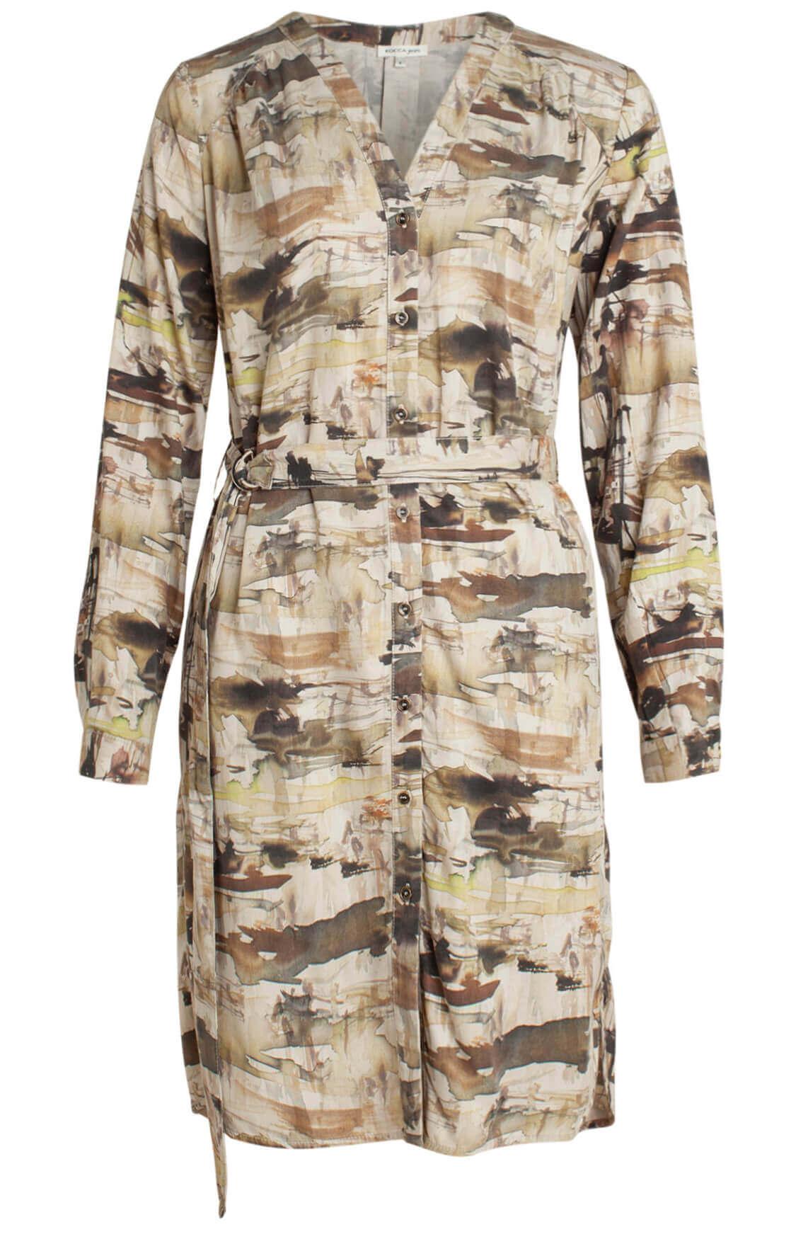 Kocca Dames Ardit jurk groen