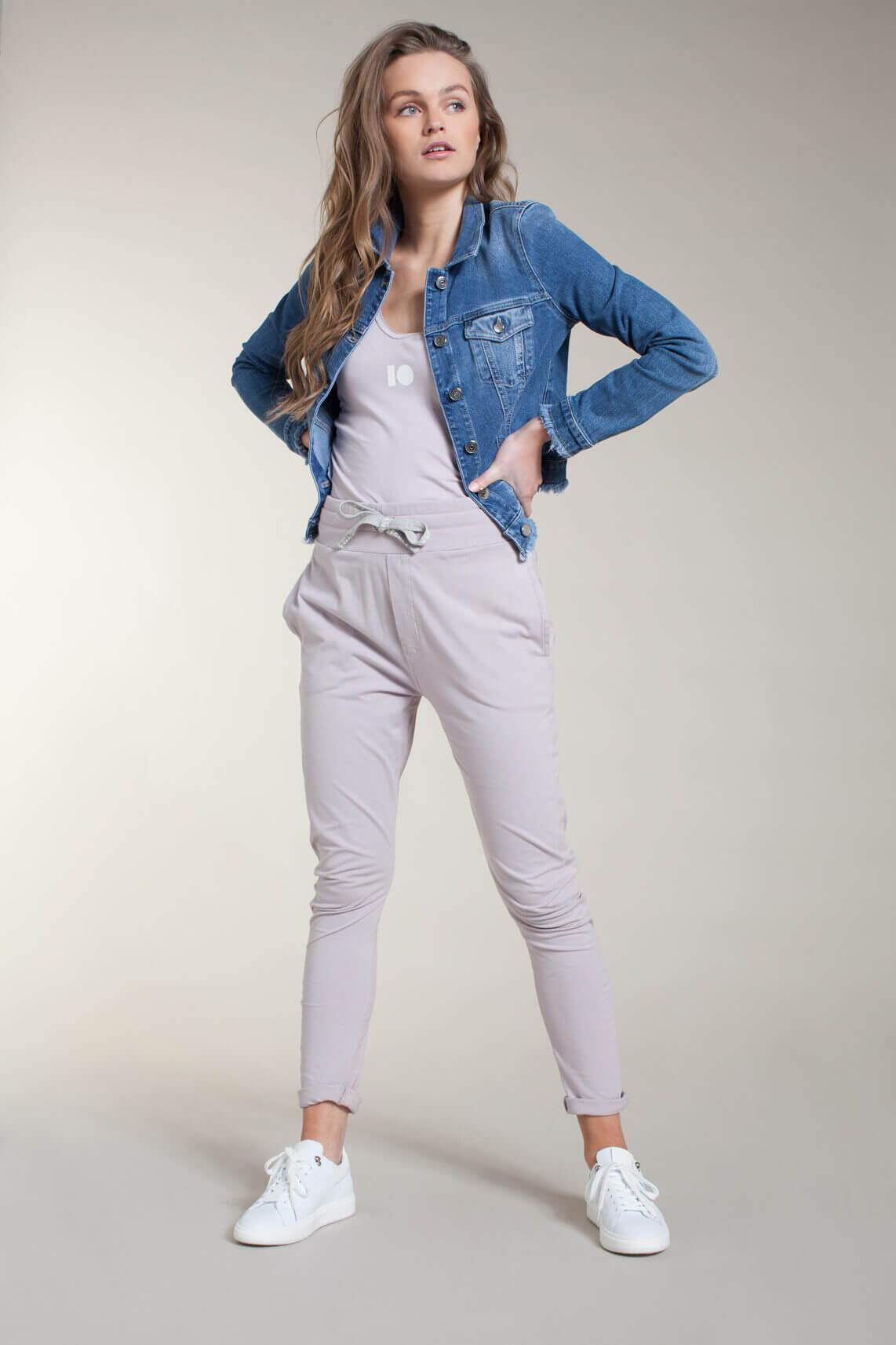 Kocca Dames Mufasa spijkerjack Blauw