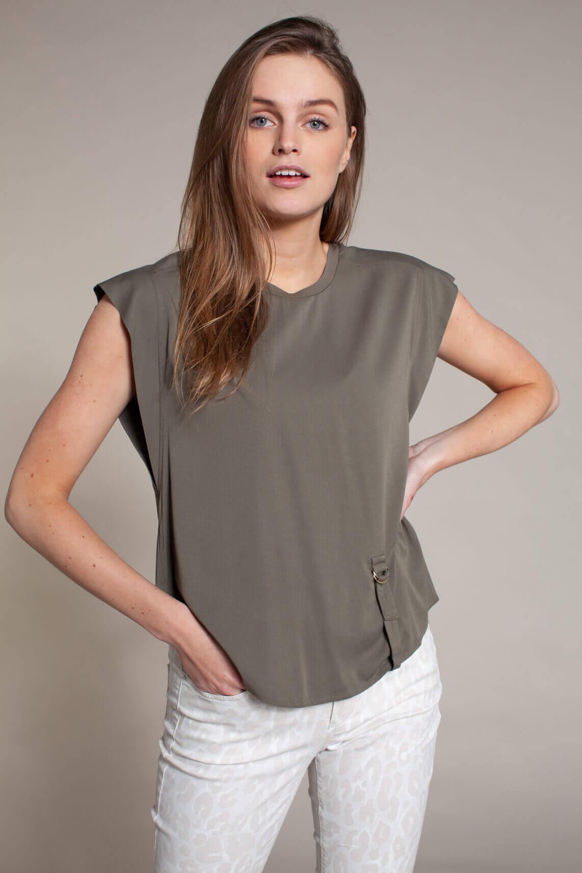 Kocca Dames Zorse blouse groen