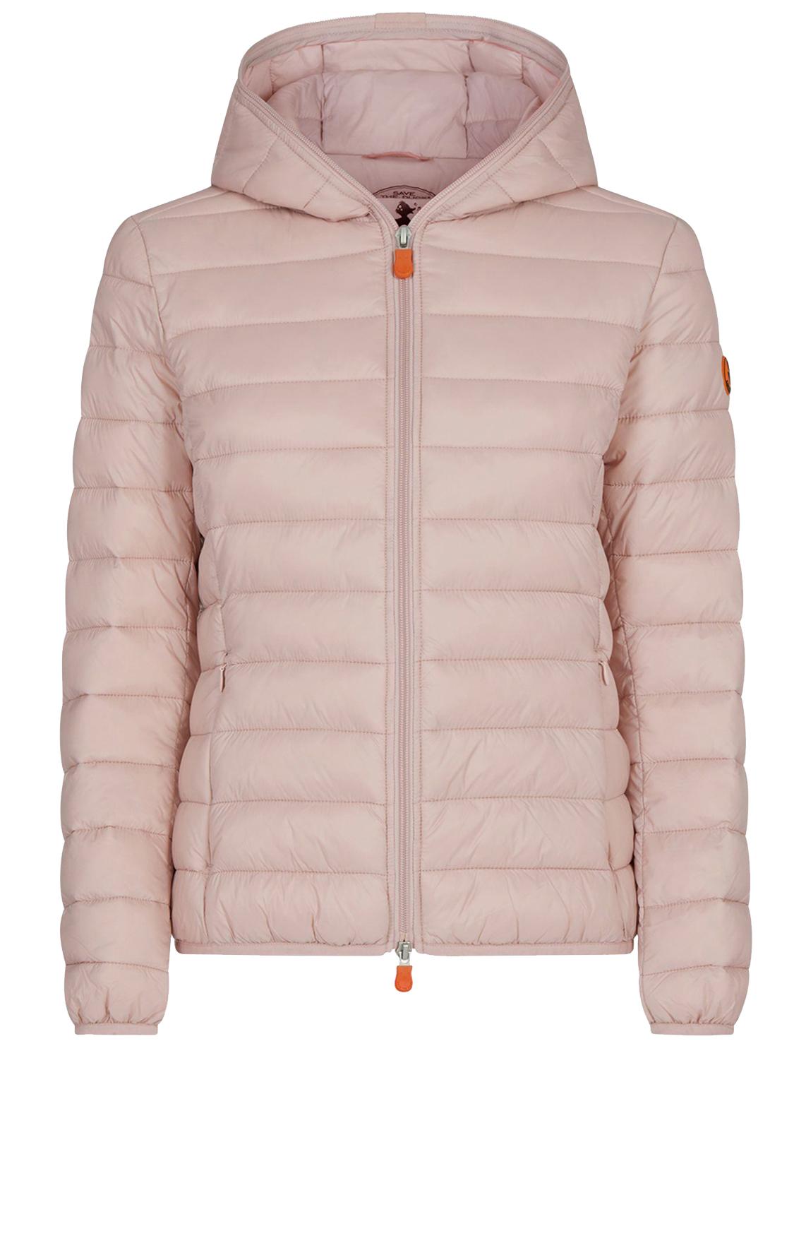 Save the Duck Dames Korte gewatteerde jas roze