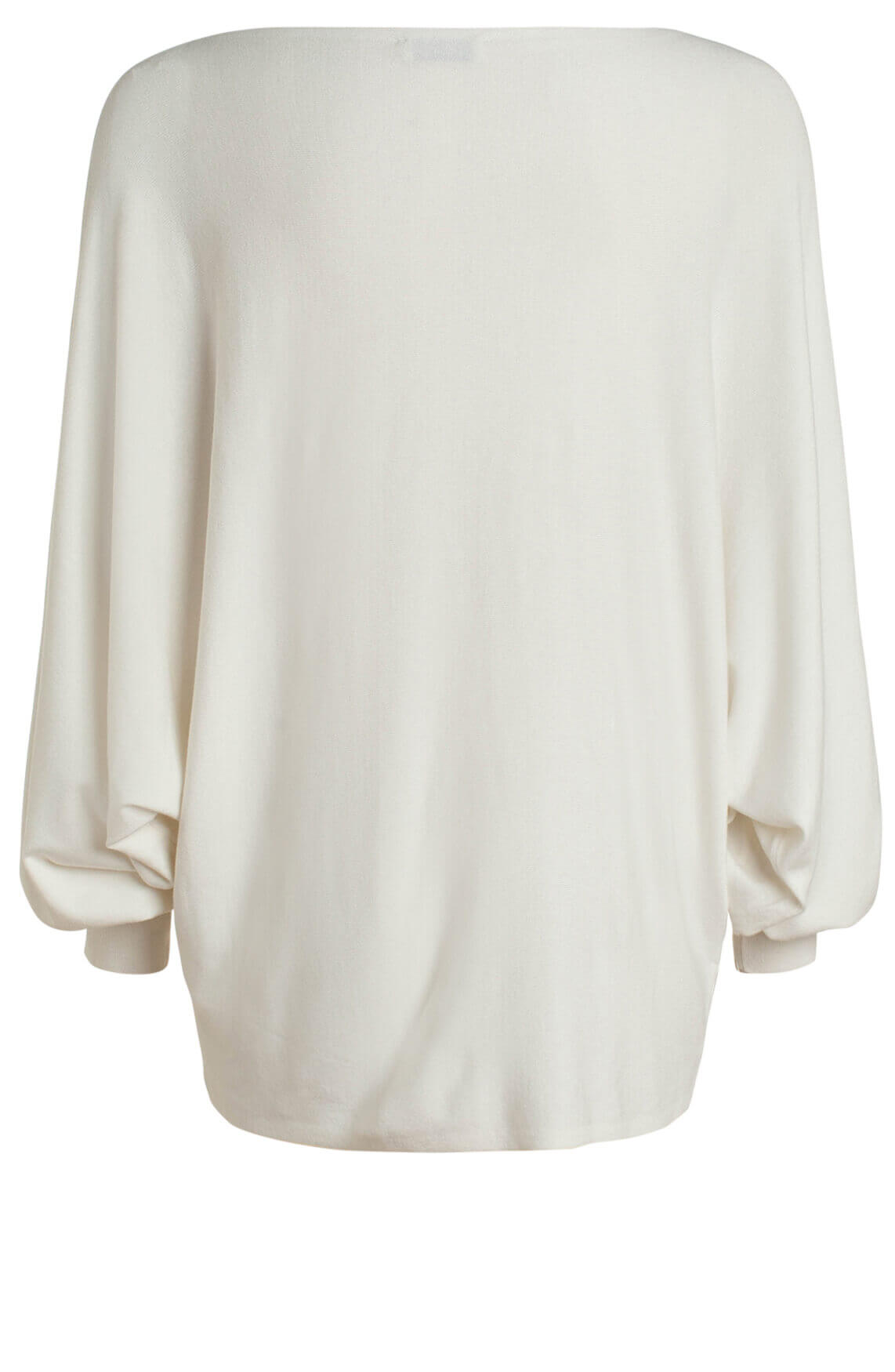 Anna Dames Oversized pullover wit
