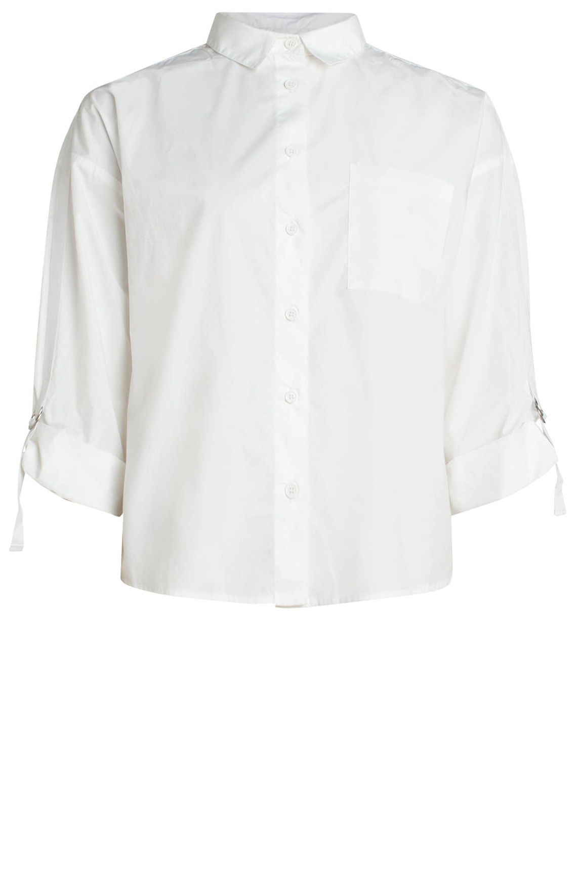 Anna Dames Blouse wit
