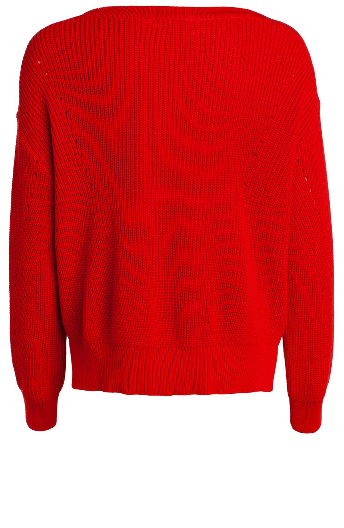 Anna Dames Gebreide pullover Rood
