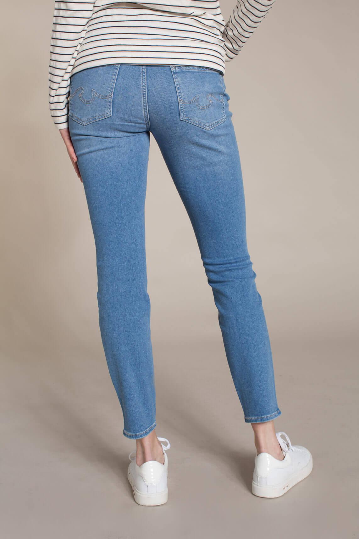 Rosner Dames L30 Audrey high waist jeans Blauw