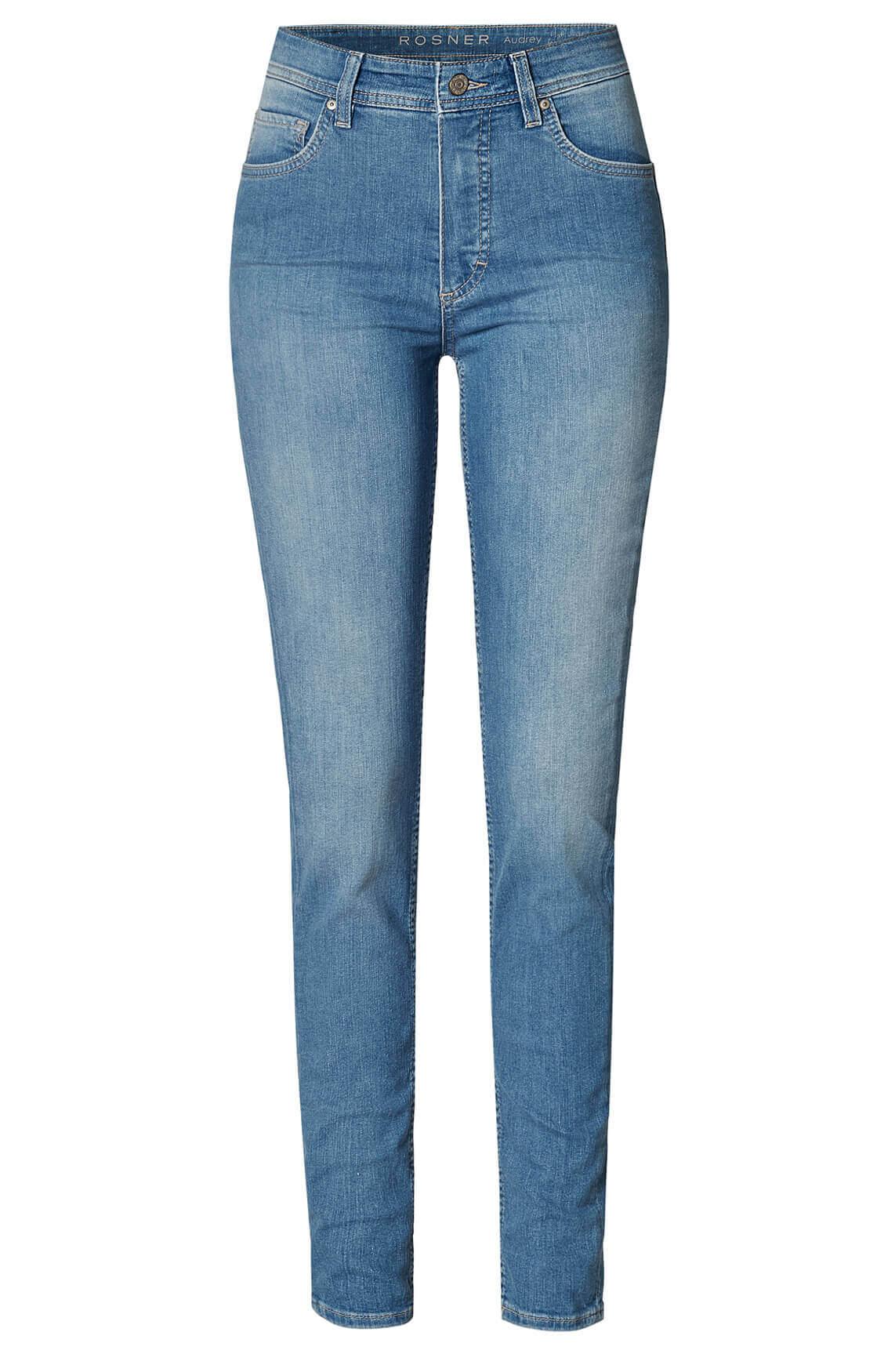 Rosner Dames Audrey high waist jeans L32 Blauw