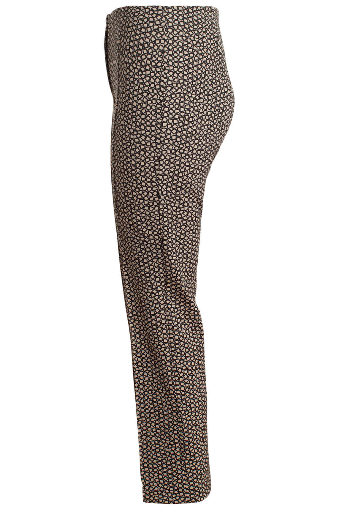 Rosner Dames Alisa pantalon met print Bruin