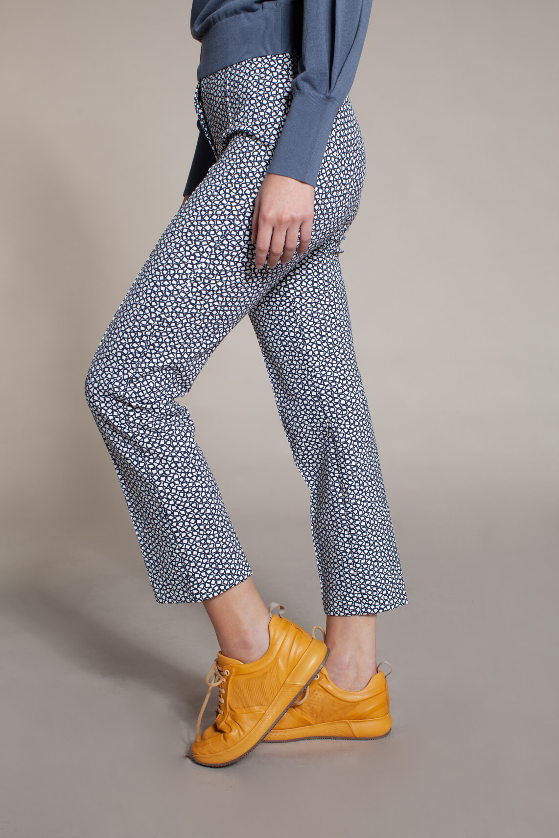 Rosner Dames Alisa pantalon met print Blauw