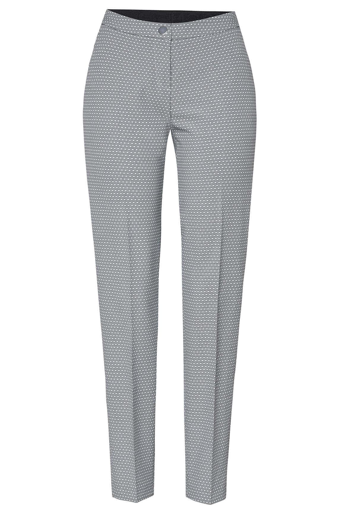 Rosner Dames Alisa pantalon met grafische print zwart