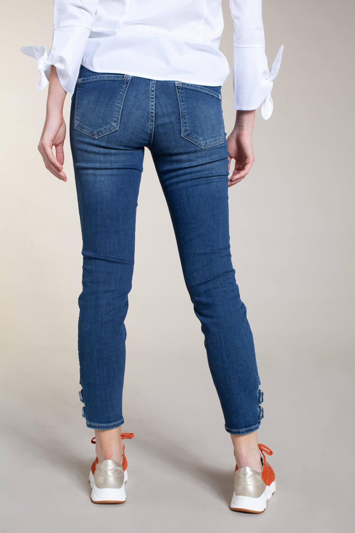 Rosner Dames L28 Antonia jeans met gesp Blauw