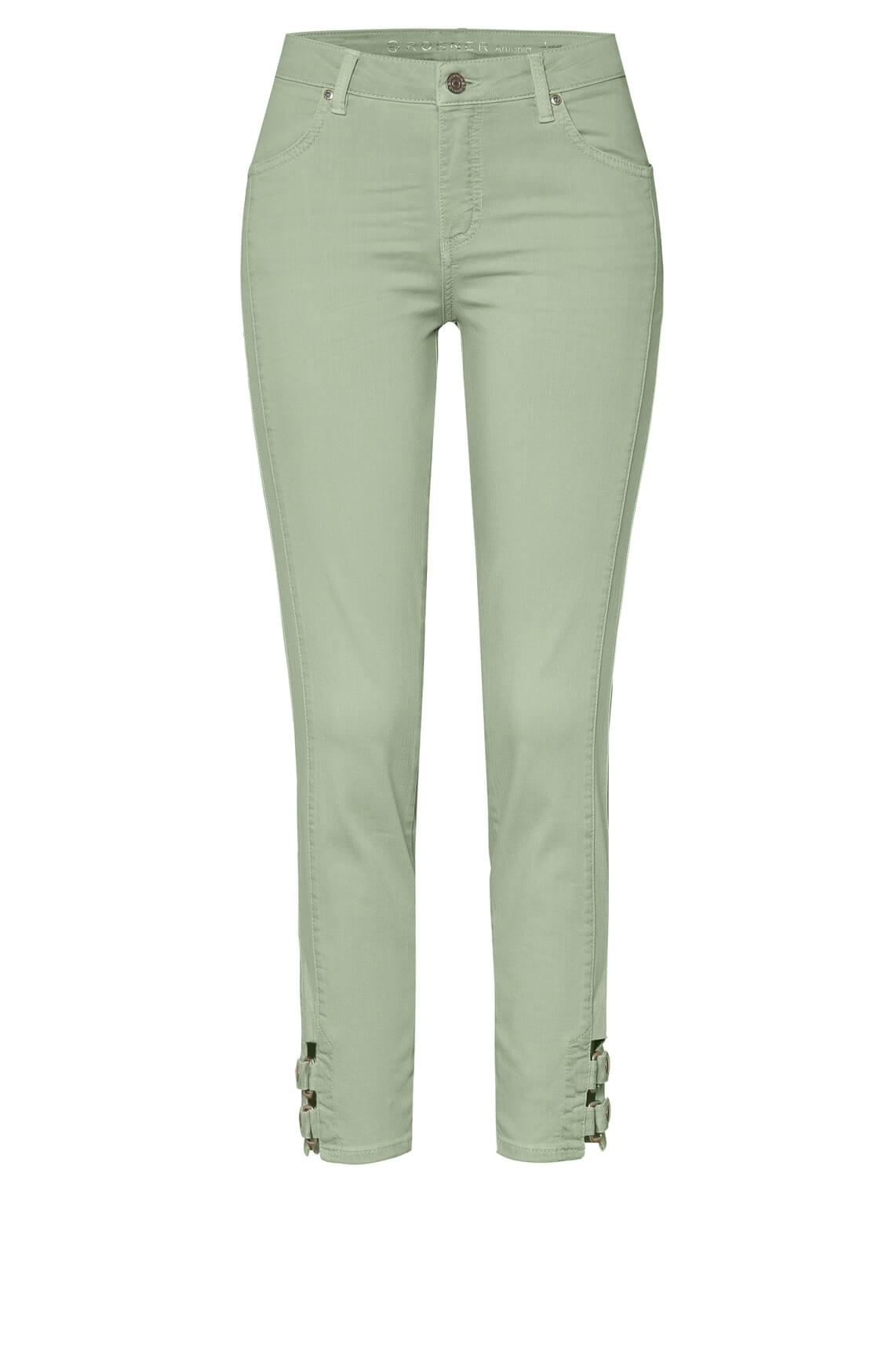 Rosner Dames Antonia jeans met gesp groen