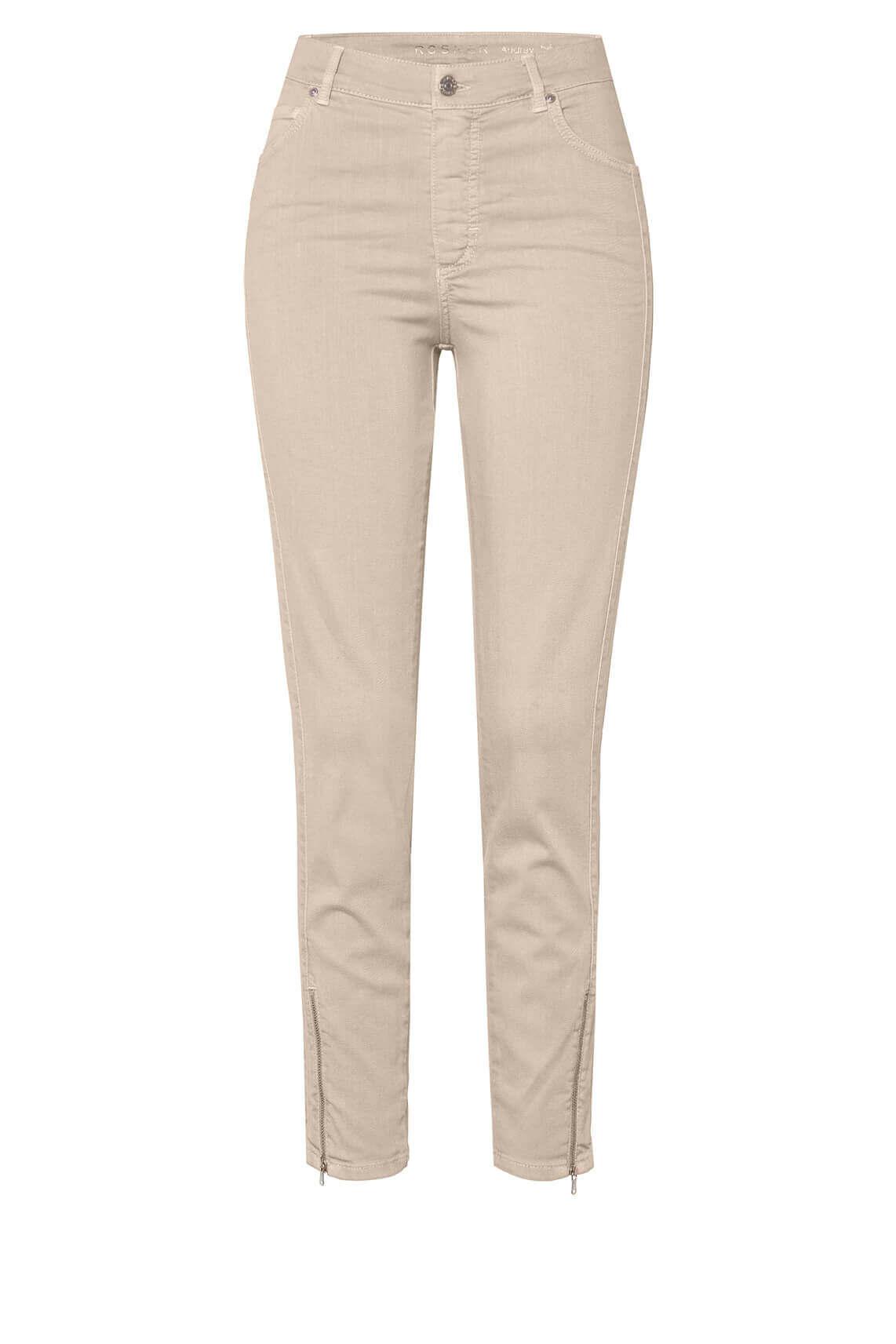 Rosner Dames Audrey jeans met rits Ecru