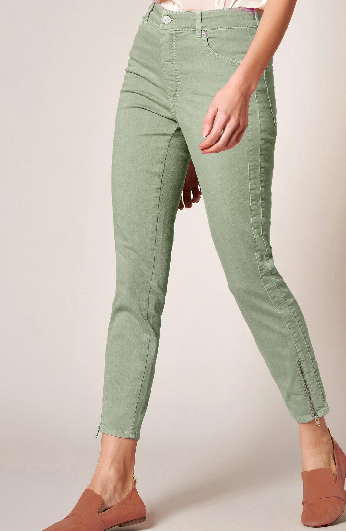 Rosner Dames Audrey jeans met rits groen