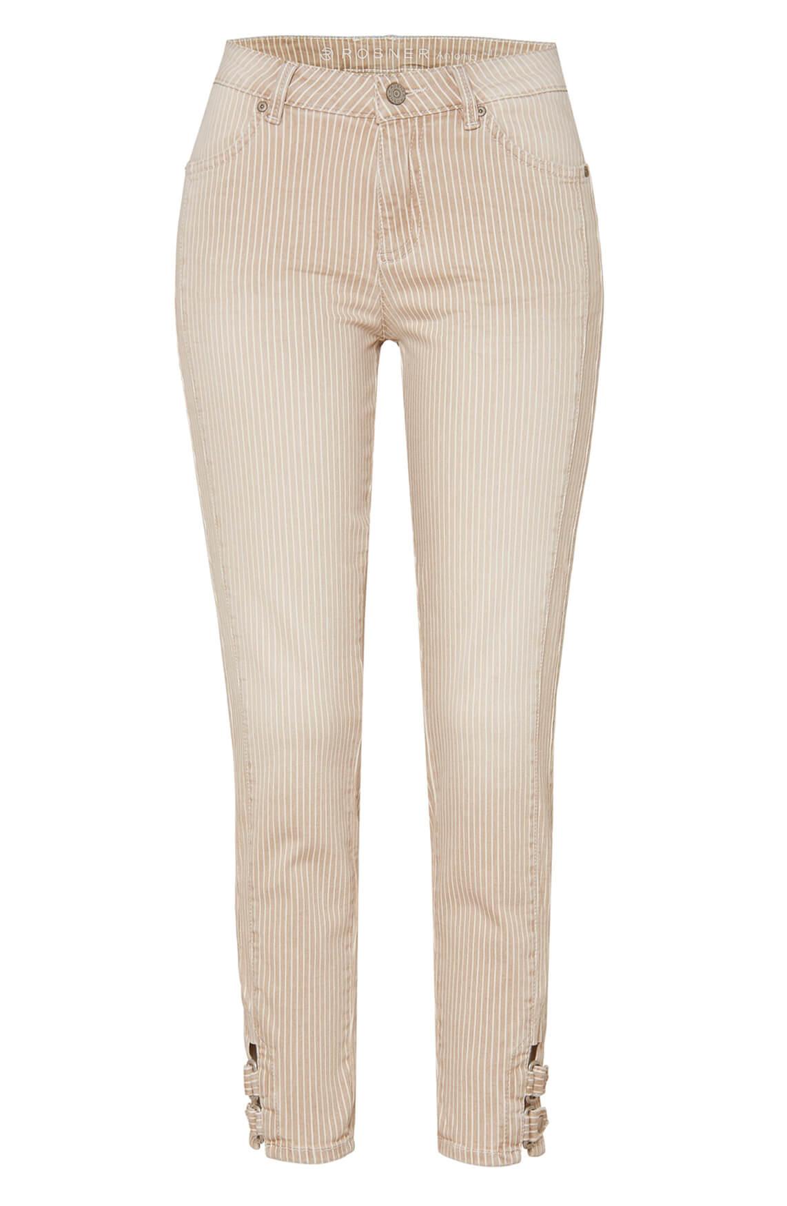 Rosner Dames Antonia gestreepte jeans Bruin