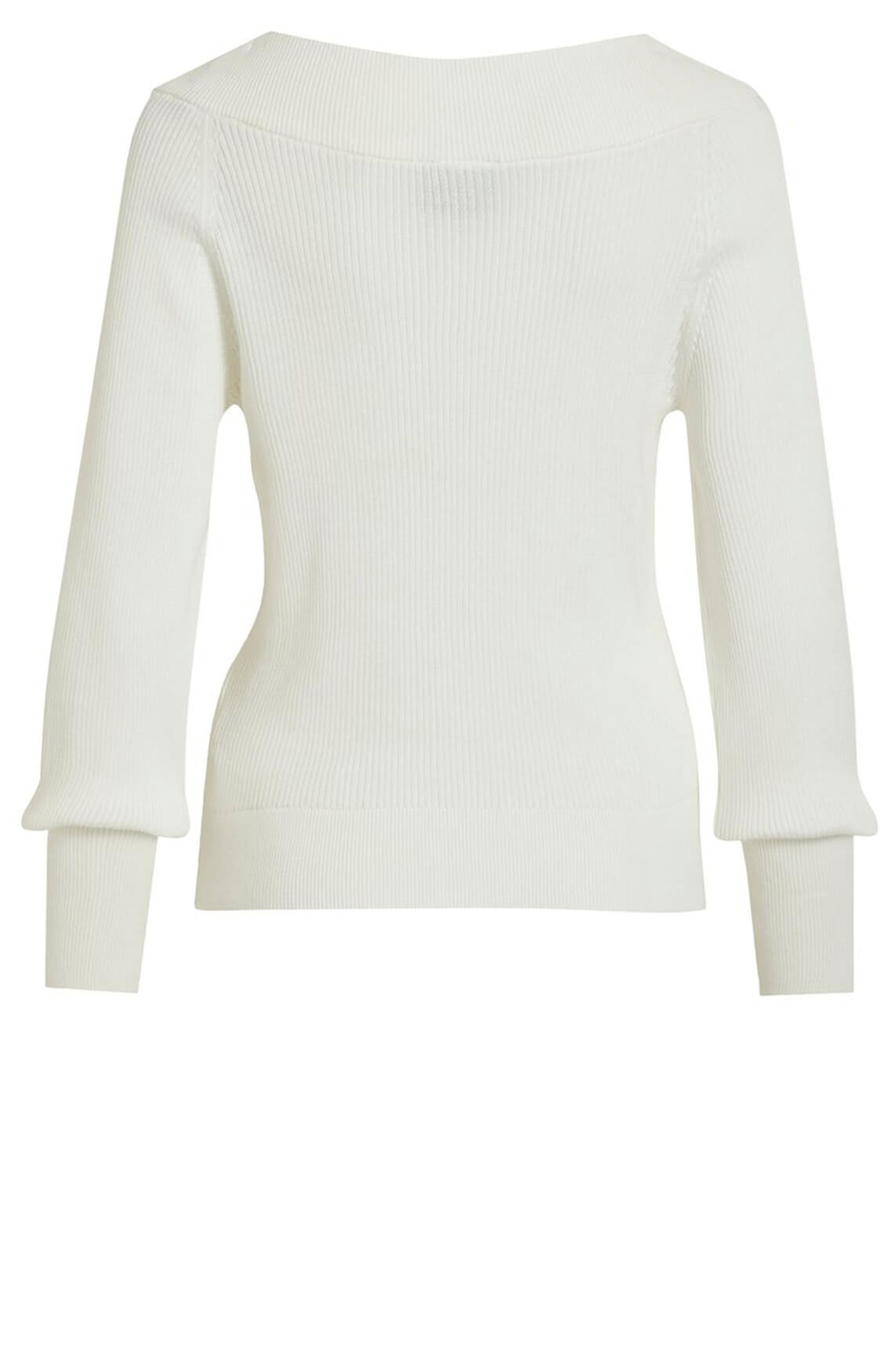 Object Dames Manja pullover wit