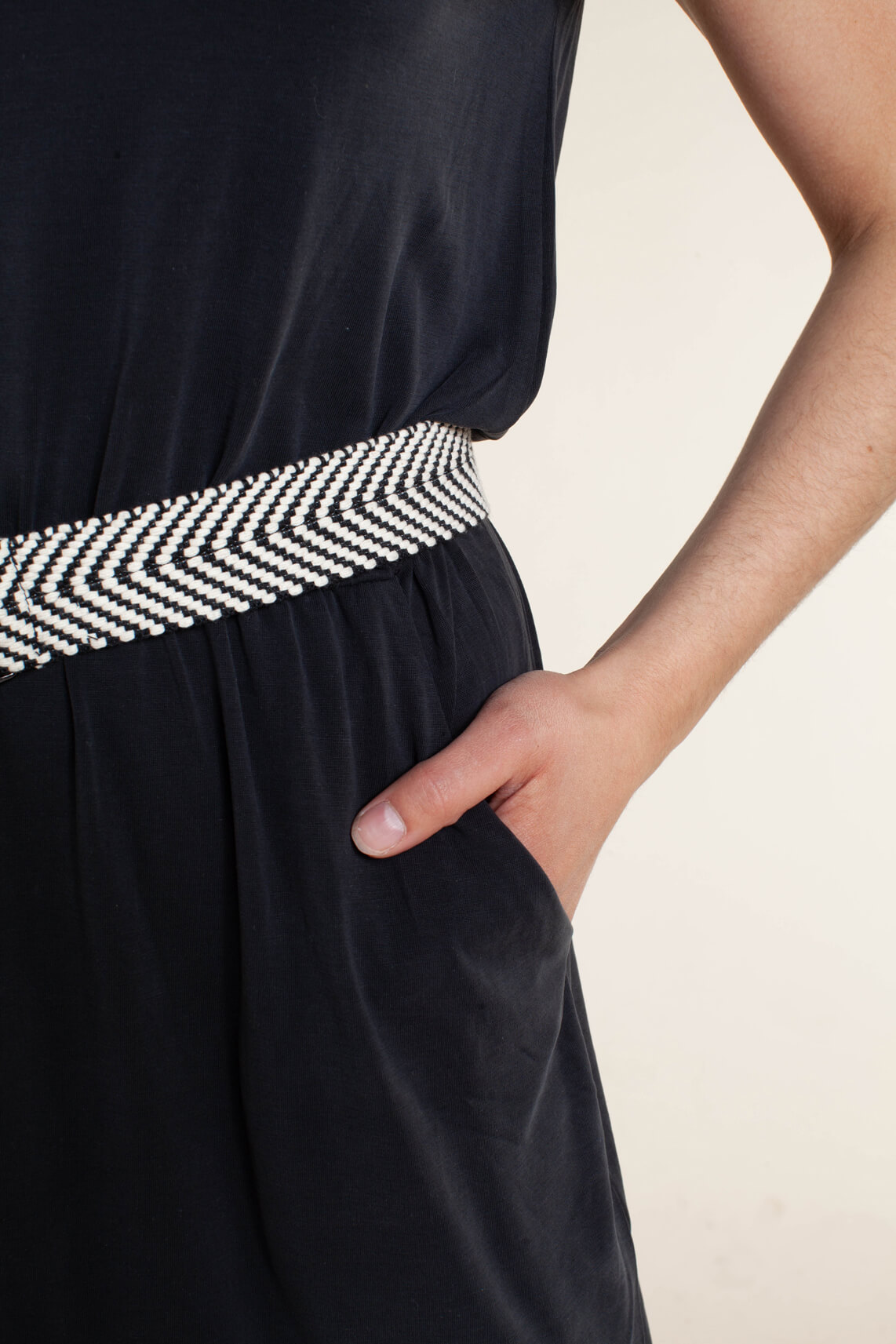 Object Dames Jannie jurk zwart