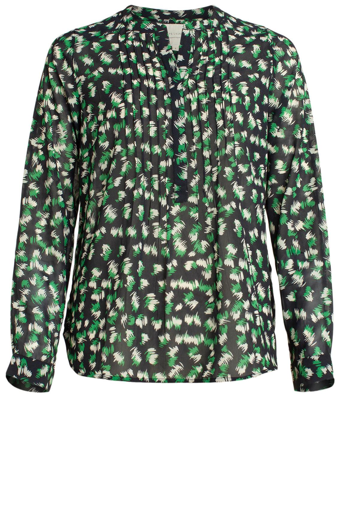 Lollys Laundry Dames Helena blouse groen