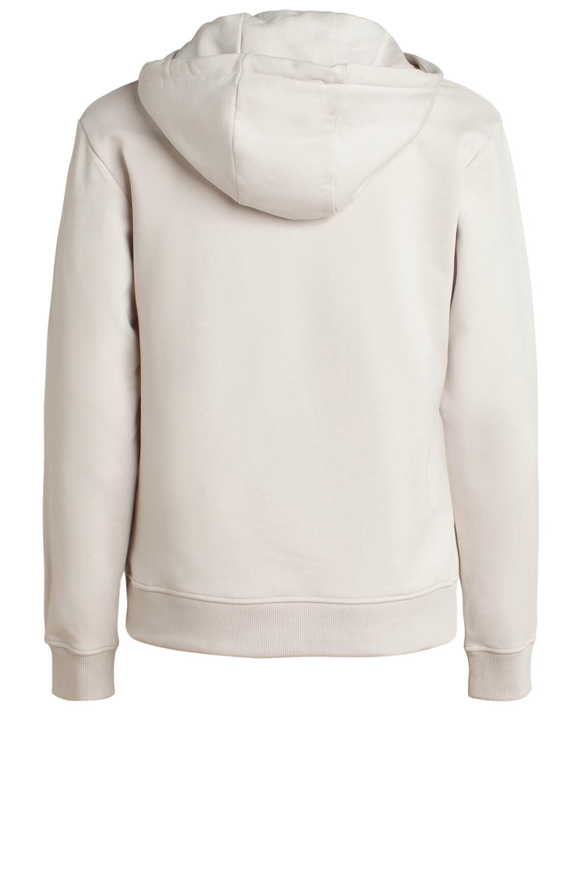 Moscow Dames Sweater met capuchon Ecru
