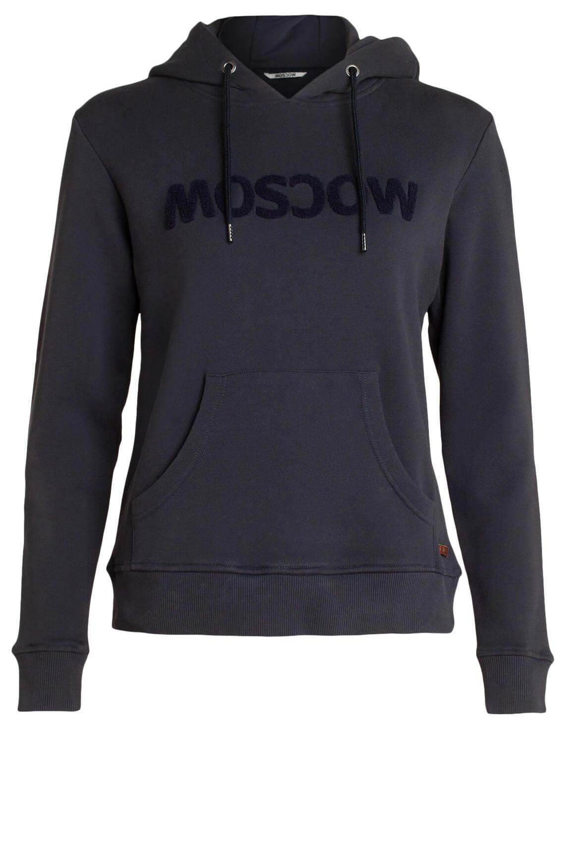 Moscow Dames Sweater met capuchon Blauw