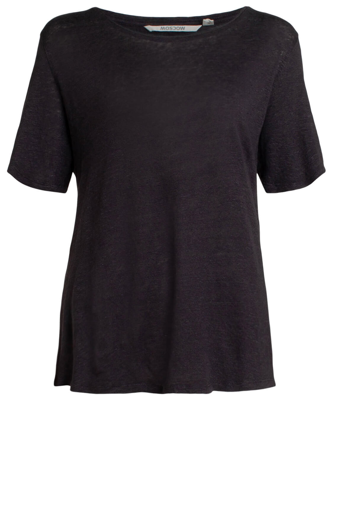 Moscow Dames Linnen shirt Grijs