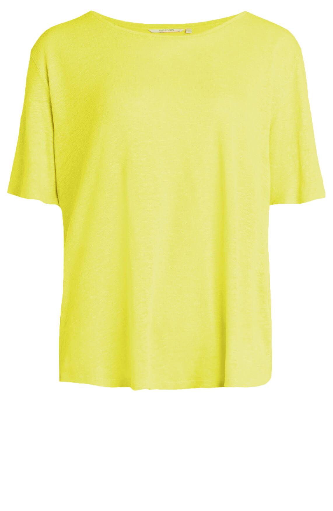Moscow Dames Linnen shirt geel