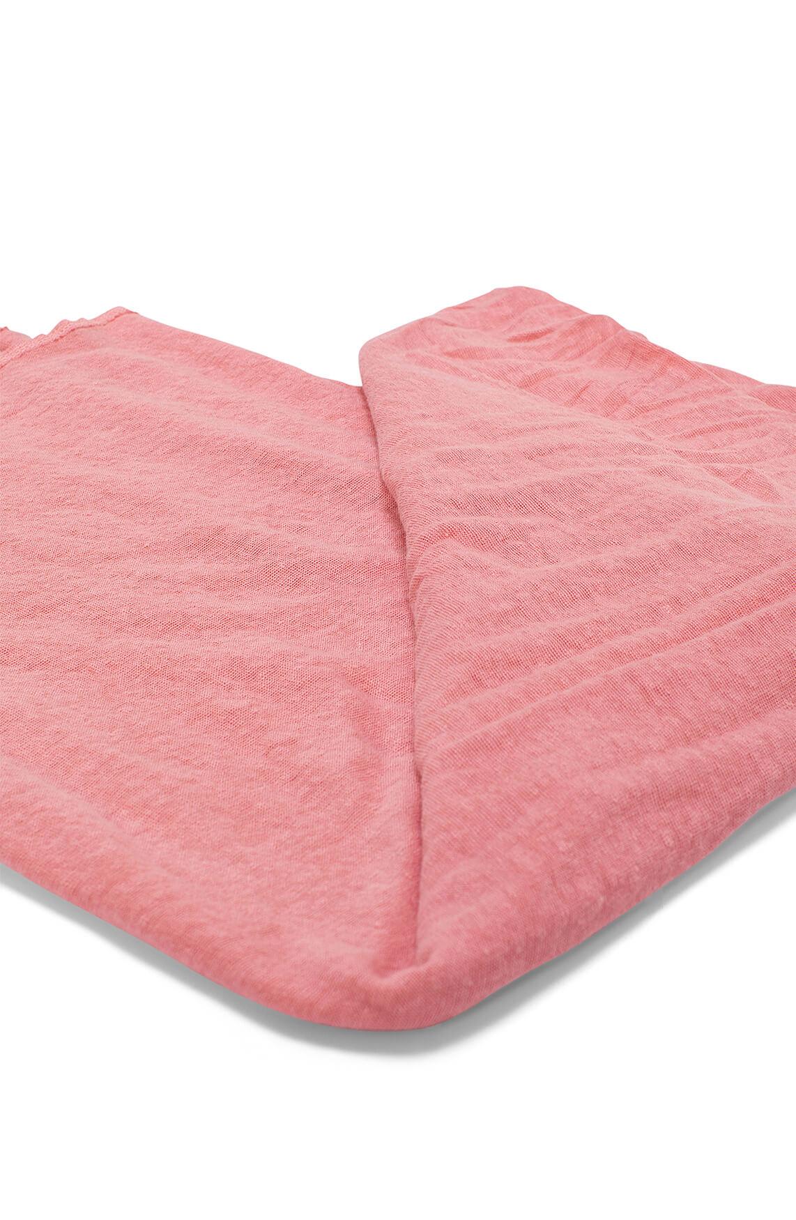 Moscow Dames Linnen shawl roze