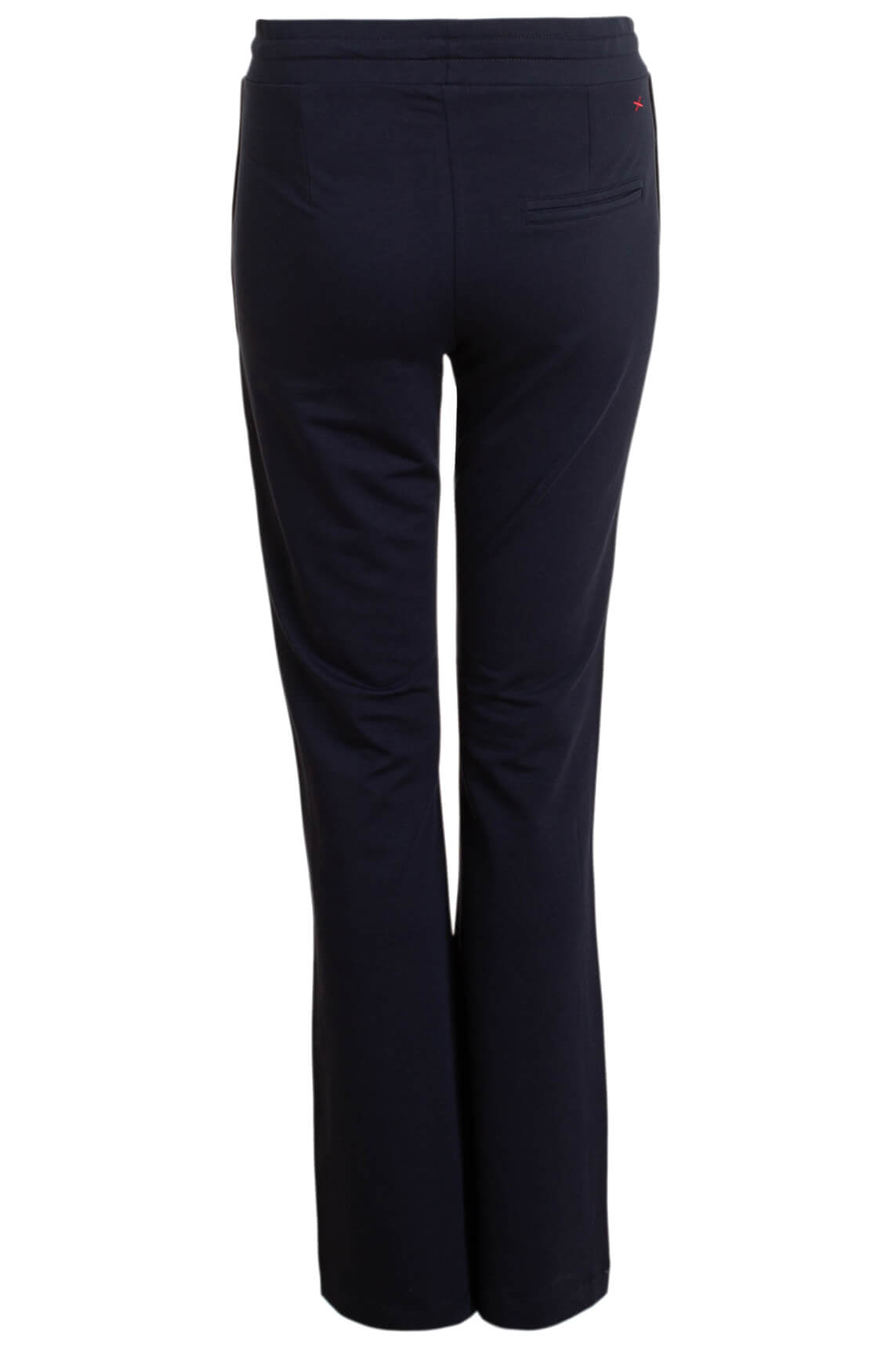 Anna Blue Dames Flared jogpantalon Blauw