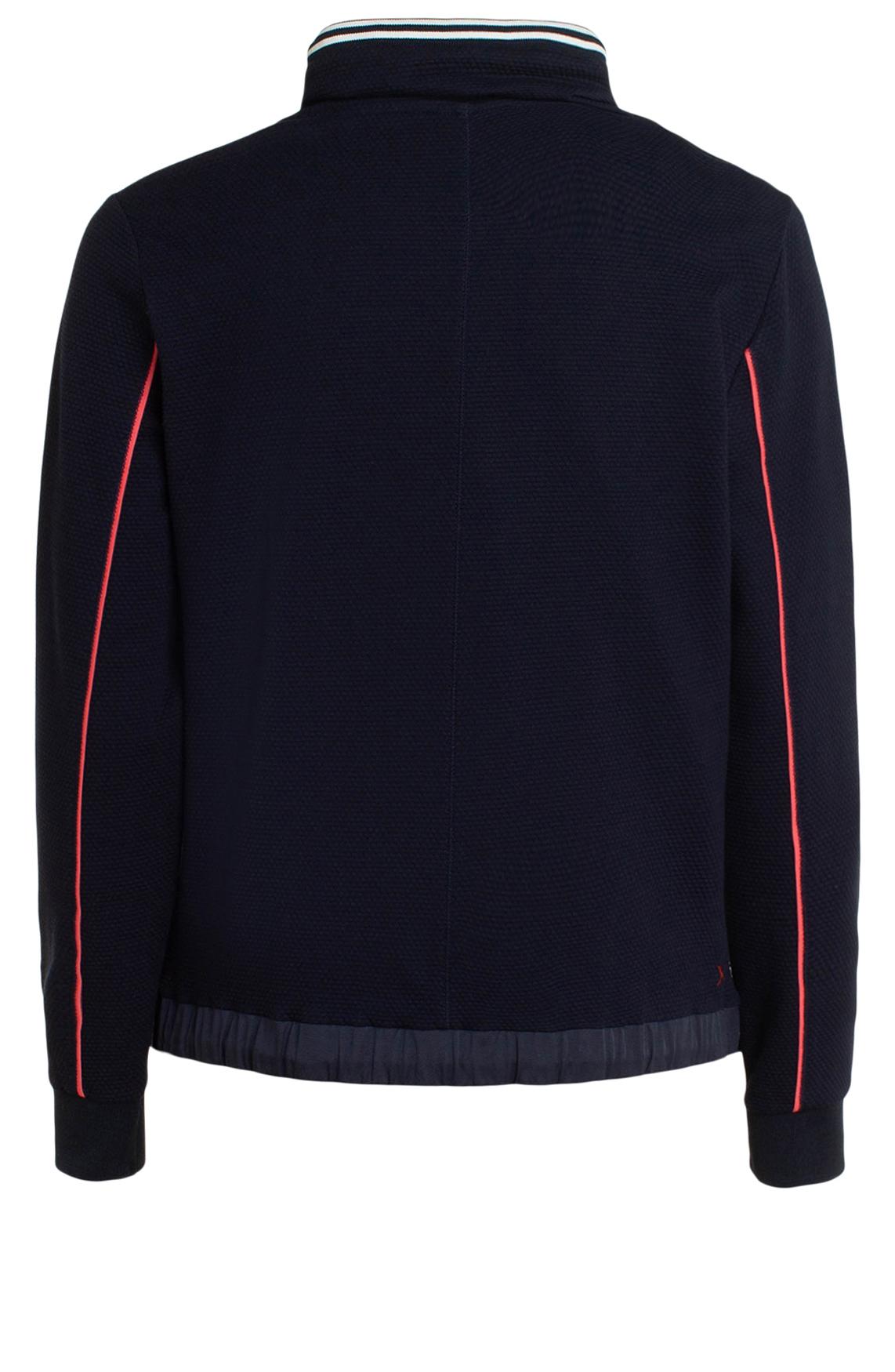 Anna Blue Dames Sweater met reliëf Blauw