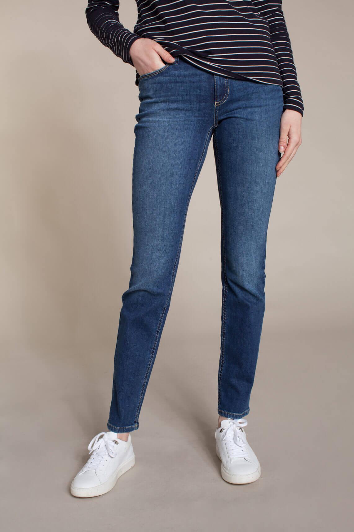 Cambio Dames Parla jeans Blauw