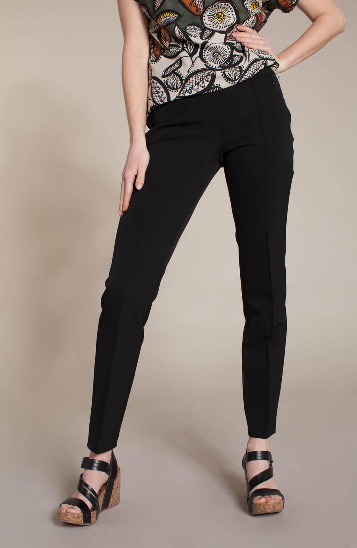 Cambio Dames Rubia pantalon zwart
