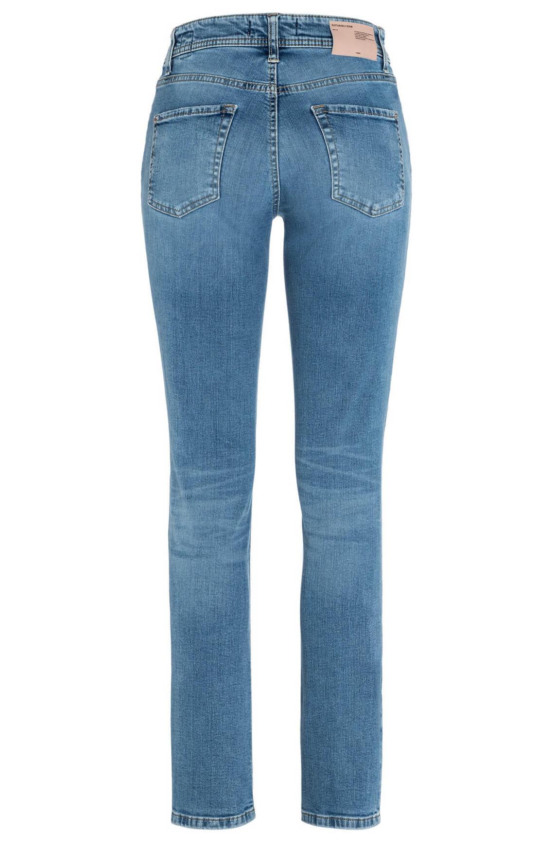 Cambio Dames Parla lichte jeans Blauw