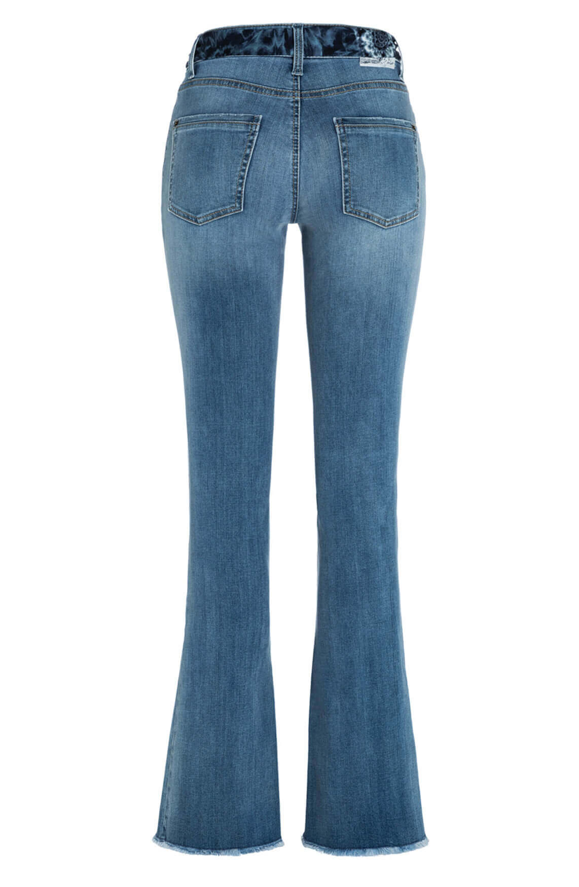 Cambio Dames Parla flared jeans Blauw