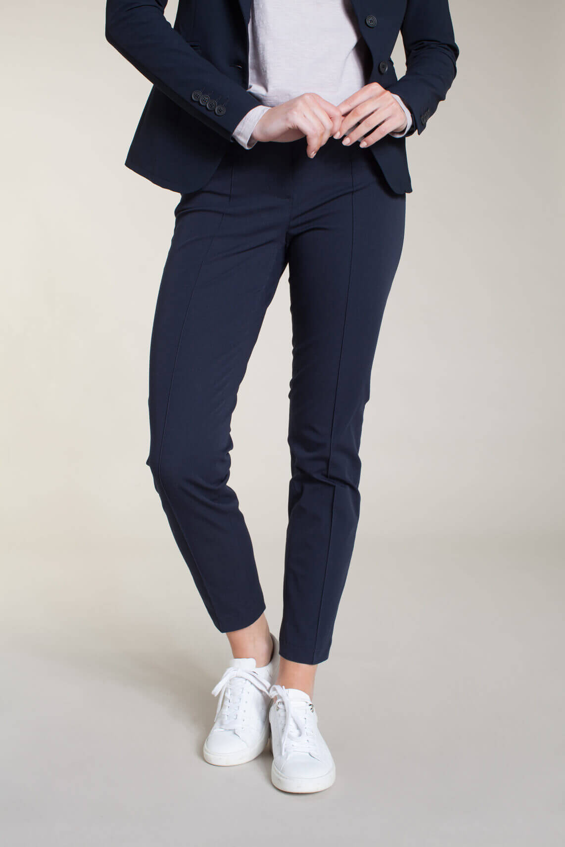Cambio Dames Ros pantalon Blauw