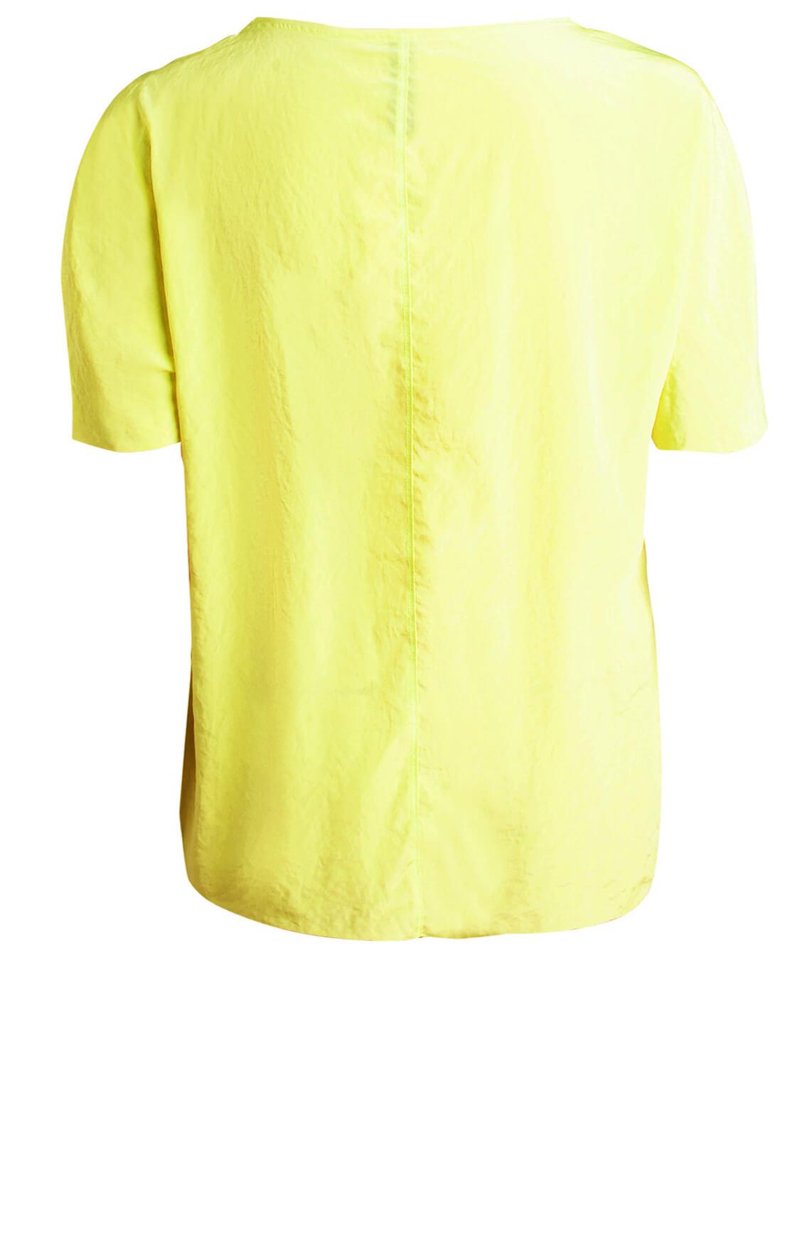 Marccain Sports Dames Blouseshirt geel