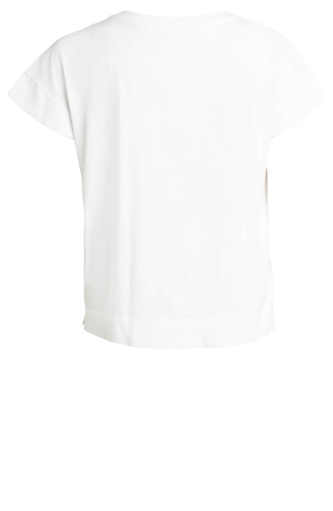 Marccain Sports Dames Shirt met pailletten wit