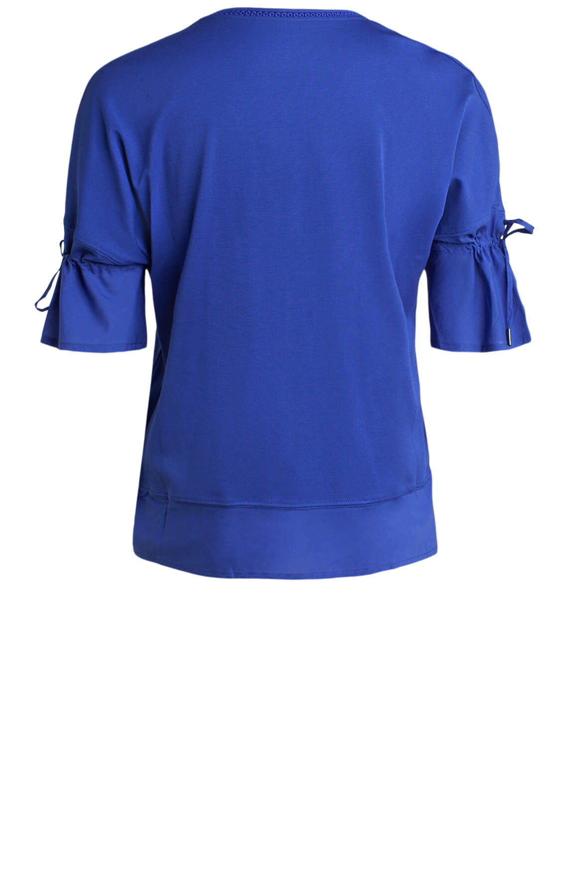 Marccain Dames Shirt met borduursel Blauw