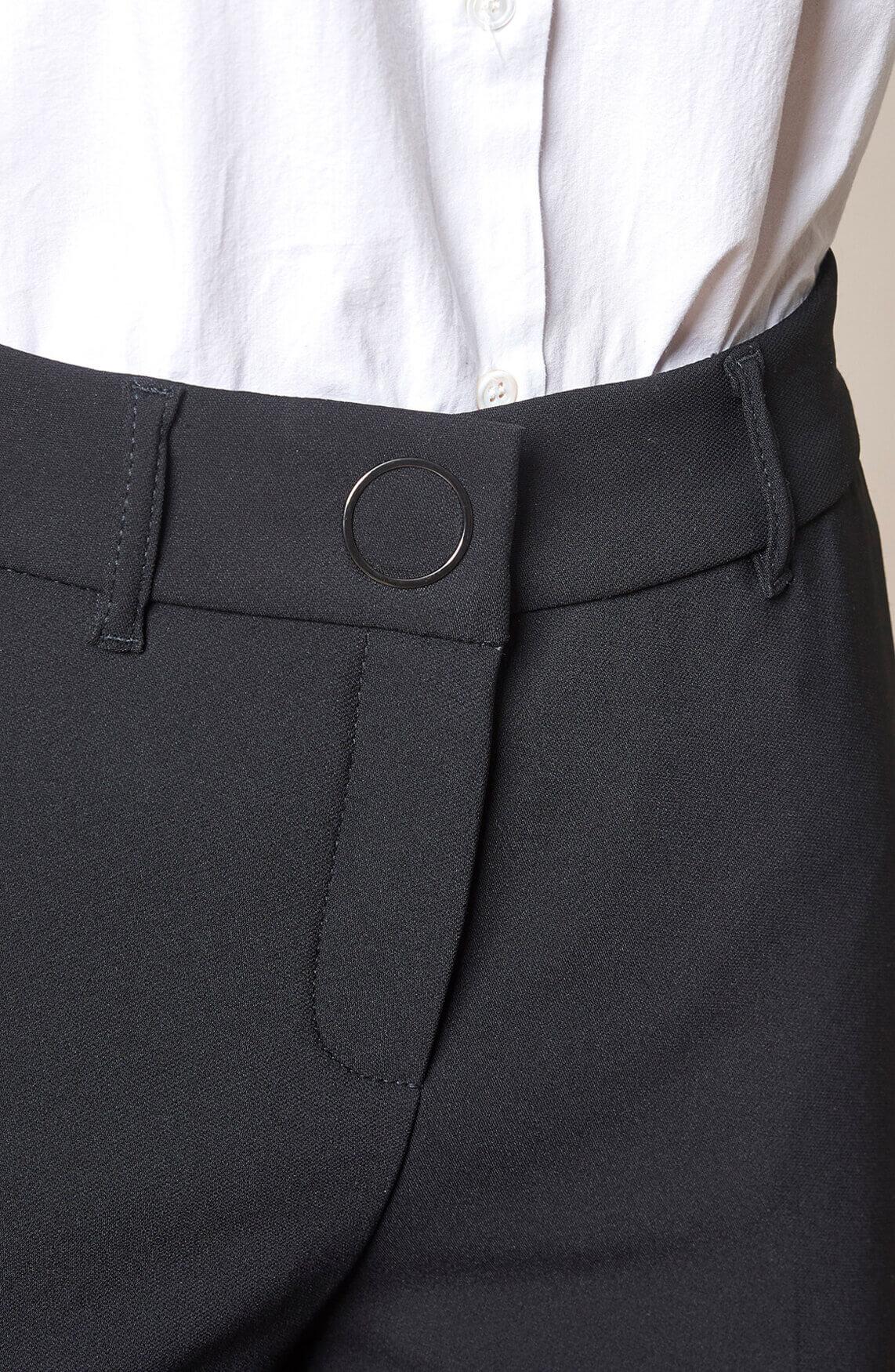 Rosner Dames May wijde pantalon zwart