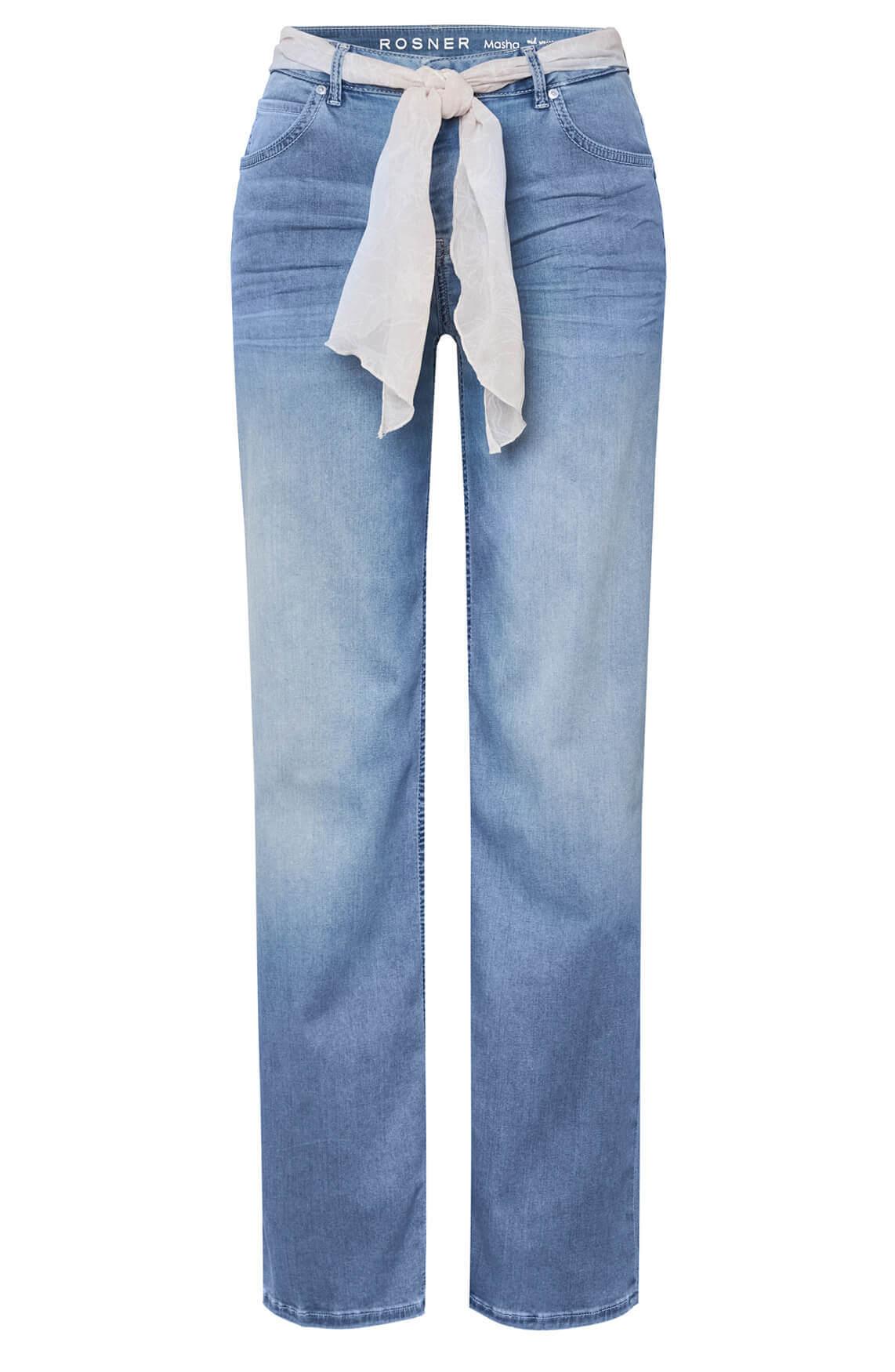 Rosner Dames Masha flared jeans Blauw